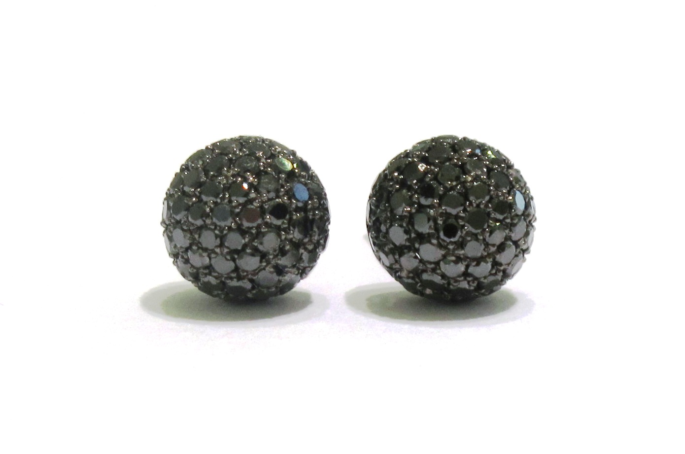 Black Diamond Mens Earrings Collection